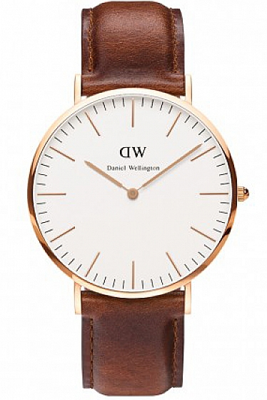 Daniel Wellington St. Mawes Rose Gold Watch - 40MM Mens