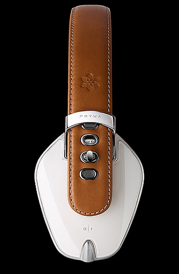 Pryma Handmade Headphones - Coffee and Cream