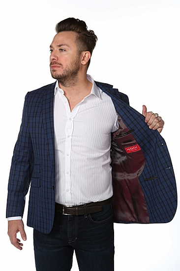 XXXX Red Label Collection Sport Coat w/ Ticket Pocket